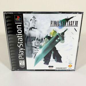[MINT] Final Fantasy VII 7 (Playstation PS1) Black Label CIB Complete w/ Manual
