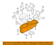 NISSAN OEM 00-03 Maxima Center Console-Console Base 969153Y10A