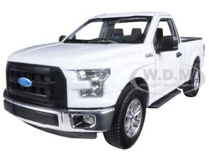 Box Damaged 2015 FORD F-150 REGULAR CAB PICKUP TRUCK WHITE 1/24-1/27 WELLY 24063