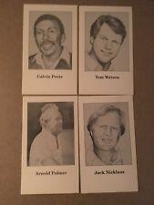 Golf Cards -  1991 Media Materials Education Cards - Palmer, Nicklaus etc