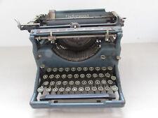 ancienne machine a ecrire underwood