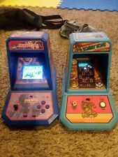 Coleco Mini Arcade Tabletop Lot Robotech and Donkey Kong Games