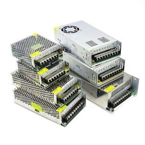 DC 12V 24V 5A 10A 15A 20A 25A 30A Alimentation Transformateur LED Adaptateur