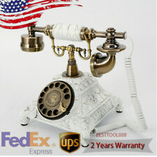 Retro Rotary Phone Vintage Rotary Dial Telephone Old Fashioned Landline Phones