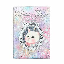 Coloring Schedule Jetoy Note Planner Business Meeting Notebook Coloring Book