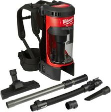 Milwaukee Vacuum Cleaner Backpack Cordless Vac 18 Volt Lithium Ion 1 Gallon 18V