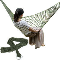 Portable Garden Nylon Hammock Outdoor Net Sleeping Bed Travel Camping Hamac