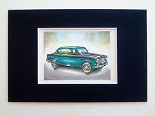 1956 Fiat 1900B Gran Luce - Mounted Colour Vintage Car Automobile Print