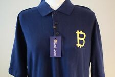 Besticktes Herren Premium Poloshirt für Bitcoin Fans Bitcoin Miner