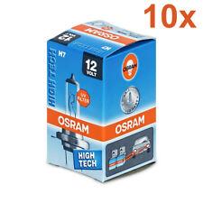 10x HALOGEN BULBS OSRAM H7 55W PX26d 12V 64210L LONGLIFE STANDARD CLEAR E1