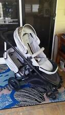 2yr old Strider Compact Pram Silver with second seat Double Pram Retails$730