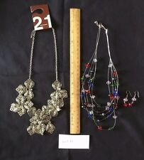 Beautiful Lot - New Necklace & Pre-owned Necklace & Earring Set