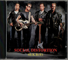 SOCIAL DISTORTION sick boys CD 1991 Youth rec. live Los Angeles 6/23/90