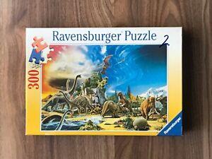 Vintage Ravensburger Jigsaw Puzzle 300 Pieces PREHISTORIC ANIMALS