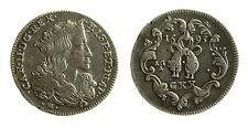 pcc1983_1) Napoli Carlo II (1665-1700) Tarì 20 grana AG 1693
