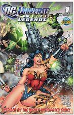 DC UNIVERSE Online Legends #1 Benes Cover 2011