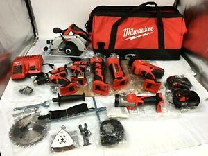 Milwaukee 2695-27S M18 Cordless Combo Tool Kit (7-Tool) N