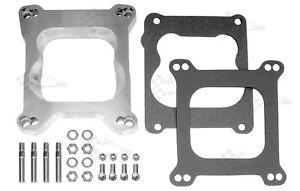 Carb Adapter Kit - Square Bore to Quadra Jet Base