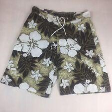 Men's Mv Fashion Board Shorts Swim Trunks Surf Pool Hawaiian Gecko Size 35 / 36
