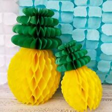 DIY 1pcs pineapple honeycomb ball paper flower wedding Holiday party Decorations