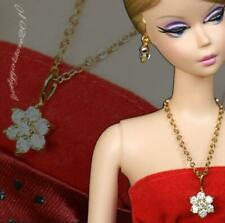 "Handmade doll jewelry necklace earrings fits 11.5/"" doll 591A"