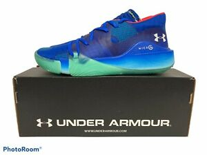 Under Armour UA Anatomix Spawn Low Basketball Shoes Size 11 - NEW WITH BOX