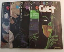 Batman The Cult #1-4 Complete VF/ NM  DC Comics 1988
