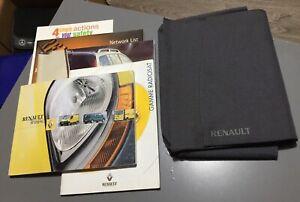 RENAULT TRAFIC OWNERS MANUAL HANDBOOK & FOLDER WALLET BOOK PACK Mk2 2001-2006