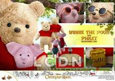 Hot Toys MMS503 Disney Winnie the Pooh 24cm and Piglet 15cm Collectible Set