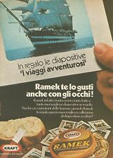 X7812 Formaggini Ramek - Kraft - Pubblicità 1976 - Vintage Advertising
