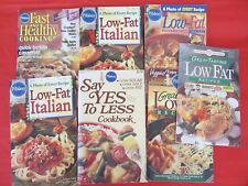 Lot of 7 Low Fat Recipe Booklets