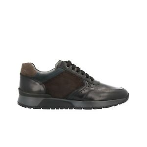 NERO GIARDINI Sneakers scarpe uomo nero 0469 mod. A800469U