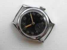 Rare Nisus German Army Military watch WWII DH wehrmacht 1939-1945 St Steel