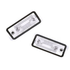 OE Pair L & R License Plate Light For Audi A3 A4 B6 B7 A5 A6 C6 A8 D3 Q7 RS4 New