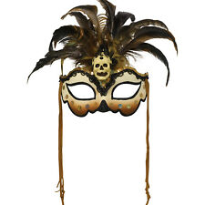 Witch Doctor Mask Halloween Voodoo Book Week Fancy Dress Accessory
