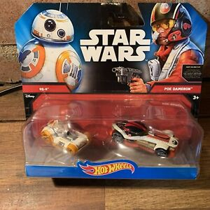 Hot Wheels BB-8 And Poe Dameron Twin Pack 2014