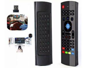 Telecomando con Mini Tastiera Air Mouse Wireless per Box Android  TV BOX