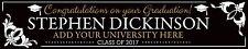 2 x Graduation Personalised Banner