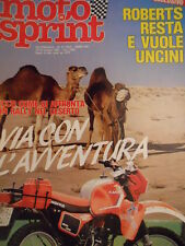 Motosprint 41 1983 Come si affronta Rally Nel deserto - Phantom SuperTou[SC.31]