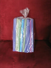 "200 Poly Gusset Clear Open Top Plastic Storage, Gift,Candy, Bags 5"" x 3.5"" x 13"""