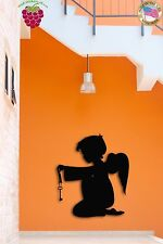 Wall Stickers Vinyl Decal Little Angel With Wings Religious Religion Decor z1587
