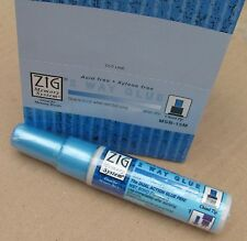 12 x ZIG 2 Way Glue PEN. DOPPIA AZIONE COLLA PEN. NUOVO 12 di loro!