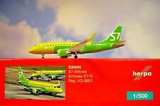 Herpa Wings 1:500 Embraer e170 s7 airlines VQ-BBO 530866 modellairport 500