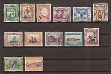 """SIERRA LEONE """"Wilberforce"""" 1933  SG168/80 Mint Cat £1100"""