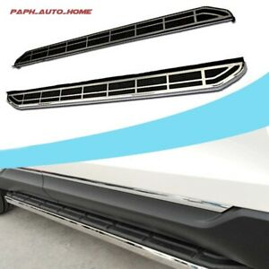 Stainless Steel Running Board Side Step Nerf Bar Fits Porsche Macan 2014 - 2019