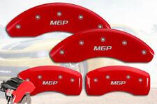 "2010-2016 Forte Koup Front + Rear Red ""MGP"" Brake Disc Caliper Covers 4p Set"