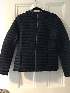 Massimo Dutti Ladies Outdoor Jacket Dark Navy L (10-12)