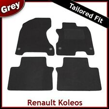 Renault Koleos Mk1 2007-2015 Tailored Fitted Carpet Car Floor Mats GREY