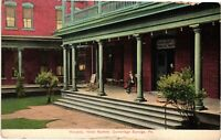 Vintage Postcard - Veranda Hotel Bartlett Cambridge Springs Pennsylvania  #4208