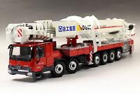 XCMG 1/50 DG100 Aerial Platform Mercedes Benz Fire Truck Diecast Model Toy